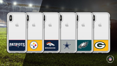 NFL Symmetry Series allows fans to celebrate Sunday football wins and team pride throughout the week. From tailgate BBQs to cheering from the couch, these cases offer protection as impressive as a left tackle.