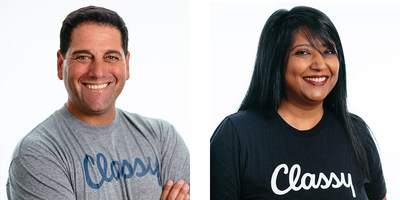 Classy Welcomes Adam Aarons as Chief Revenue Officer & President and Neena Gupta Needel as Chief Product Officer