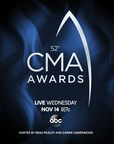 """The Country Music Association Announces """"The 52nd Annual CMA Awards"""" Nominees"""