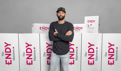 Iconic athlete and former Toronto Blue Jays star Jose Bautista joins Endy, Canada's leading online mattress brand, as investor. (CNW Group/Endy (Overwater Ltd.))
