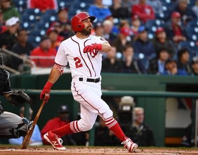 Adam Eaton, Centerfielder for MLB's Washington Nationals