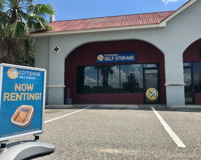 Compass Self Storage has acquired their 83rd location in Tavares, Florida