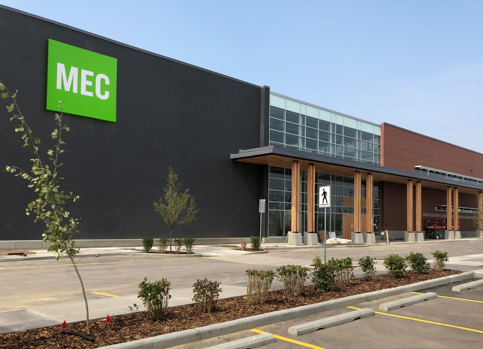 Mountain Equipment Co-op (MEC) opens a South Calgary store location ahead of the Labour Day long weekend (CNW Group/MEC)