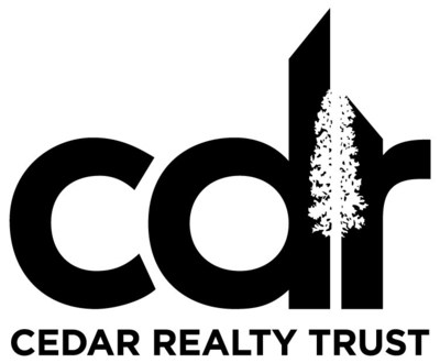 (PRNewsfoto/Cedar Realty Trust, Inc.)