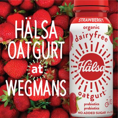 Wegmans Food Markets to Carry New Hälsa Clean Label Oatgurt Drinks