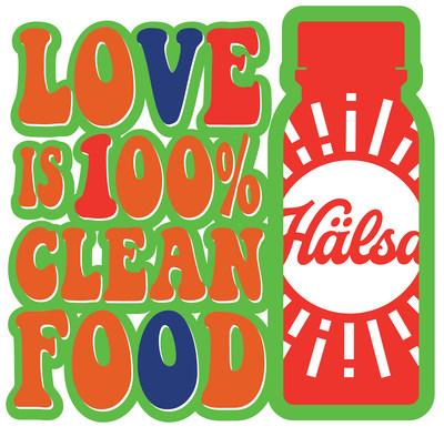 Love Is 100% Clean Food Hälsa