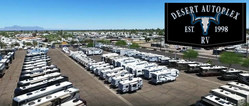 Phoenix-area drivers looking to save on new and used RVs can do so with Mesa dealership Desert Autoplex.wwd