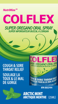COLFLEX can kill Staphylococcus, Streptococcus and E.coli bacteria in less than 30 minutes