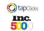 TapClicks Makes Inc. 5000 Fastest-Growing Private Companies List, 3rd Time in a Row