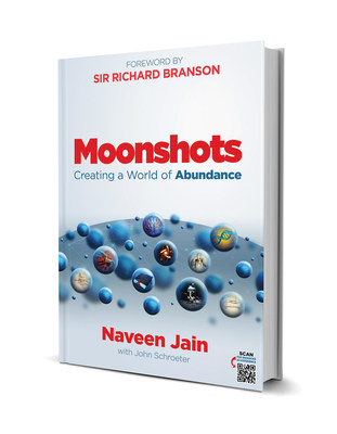 Moonshots: Creating a World of Abundance available October 1st.