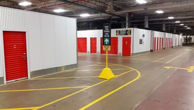 U-Haul is offering 30 days of free self-storage at 14 facilities in Greater Milwaukee and other areas in the region for residents who have been impacted by the flooding in Wisconsin. Pictured: Indoor drive-in storage at U-Haul Moving & Storage of Currie Park in Wauwatosa.