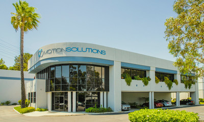 The Headquarters and production facility of Motion Solutions in Aliso Viejo, California.