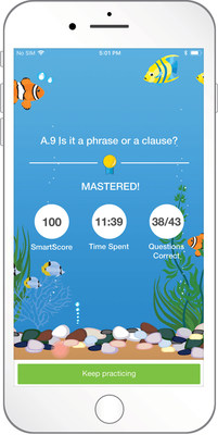 The IXL iPhone app features a complete progression of more than 5,700 skills in math and English language arts.