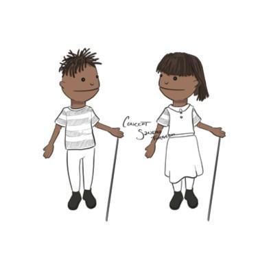 Trans Puppet Sketch (CNW Group/Fondation Jasmin Roy)