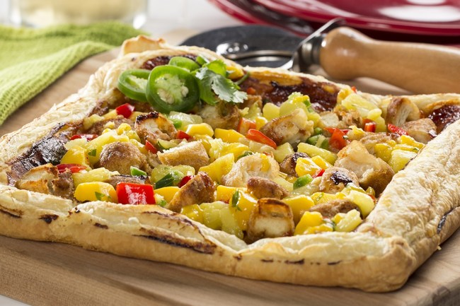 Back-to-school time is hectic for most families, but planning some family meals together is time well spent. Visit EasyHomeMeals.com for easy, tasty, dinners like this Barbecue Chicken Tart.