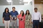Team TUV India with Managing Director Mr Manish Bhuptani (PRNewsfoto/TUV India Pvt. Ltd.)