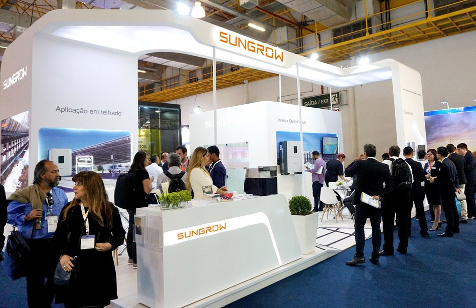 Sungrow Booth at Intersolar South America