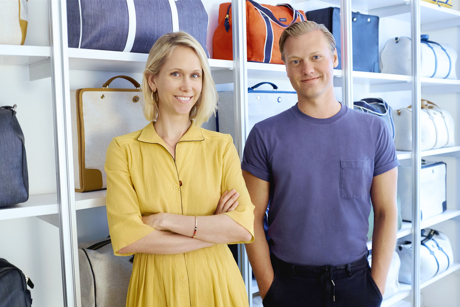Paravel co-founders Indré Rockefeller and Andy Krantz.