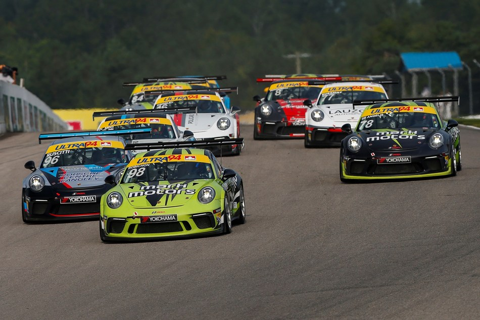 The Ultra 94 Porsche GT3 Cup Challenge Canada by Yokohama series held its final race weekend at Canadian Tire Motorsport Park, August 25-26, completing the last two races of the 2018 season. (CNW Group/Porsche Cars Canada)