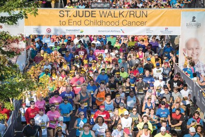 St. Jude Walk/Run to End Childhood Cancer events are taking place in 65 communities as St. Jude Children's Research Hospital® rallies supporters from across the country for Childhood Cancer Awareness Month in September.