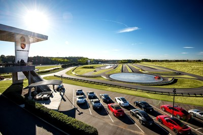 Porsche Experience Center Atlanta track overview