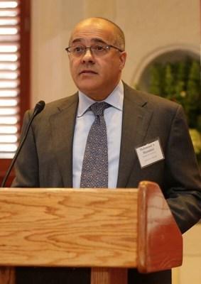 Mahmoud Mamdani, Chairman of ABANA and Vice Chairman & Managing Director at Morgan Stanley (PRNewsfoto/ABANA)