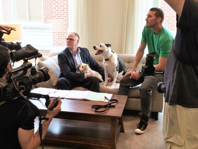 Turfmutt appeared on the CBS Lucky Dog television show to talk about the value of our living landscapes.