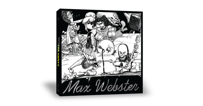 Legendary Canadian Rockers Max Webster Showcased In Expansive Vinyl & CD Box Set, The Party
