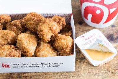 Chick-fil-A is giving away free eight-count nuggets to customers through its mobile app during September.