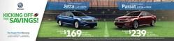 Get great deals on select Volkswagen vehicles during the Kick Off the Savings sales event at Elgin Volkswagen!