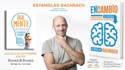 Estanislao Bachrach presenta su bestseller internacional en Miami
