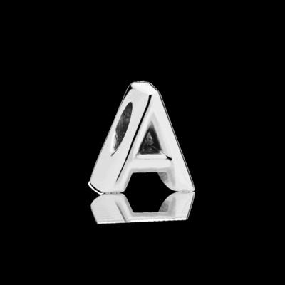 Letter A Charm (CNW Group/Pandora Jewelry, Inc.)