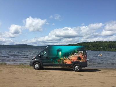 Des jeux éducatifs et des aquariums mobiles seront accessibles sur place. (Groupe CNW/Société des établissements de plein air du Québec)
