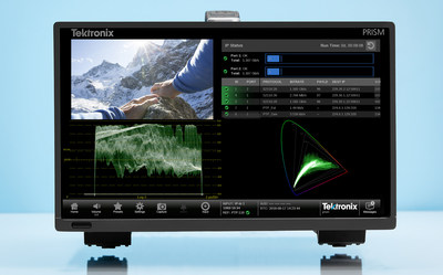 Looking towards the future, new models of the industry-leading Tektronix PRISM now come standard with IP connectivity and a feature set, allowing customers to effortlessly identify the number and content of IP multiple streams, ensure presence of PTP messages, quickly debug IP systems in hybrid environments, and perform quality checks on content.