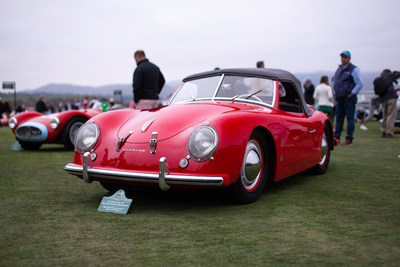 1952 Porsche America Roadster Type 540 on the lawn at Pebble Beach Concours d' Elegance - Restored by Road Scholars at Pebble Beach. Photo by: Dan Olivares