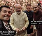 DSIJ's Editor-in-Chief V B Padode Meets PM Narendra Modi