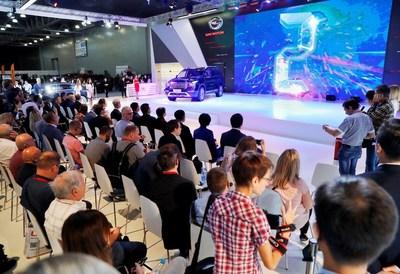 Mídia local e global acompanha com atenção a entrevista coletiva da marca chinesa de automóveis GAC Motor (PRNewsfoto/GAC Motor)