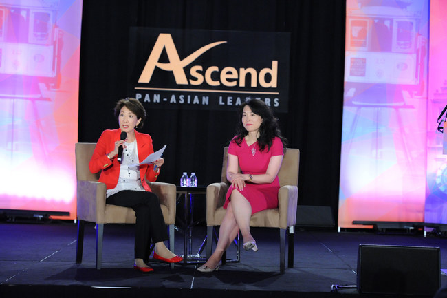 Jan Yanehiro, Broadcast Journalist; Director, Academy of Art University; Anna W. Mok, Co-Founder, Ascend Pinnacle; Executive Vice President, Ascend; Partner, Deloitte & Touche LLP