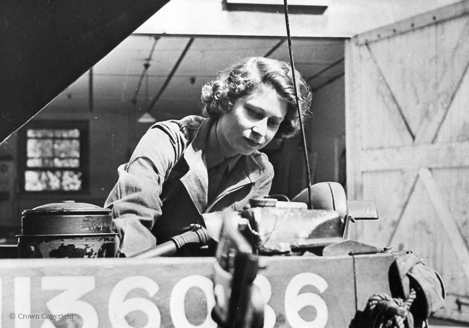 Princess Elizabeth II during World War Two (PRNewsfoto/Hawes & Curtis)
