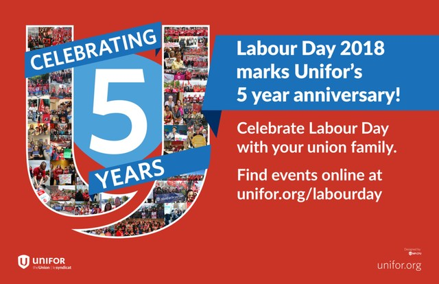 Unifor Labour Day (CNW Group/Unifor)