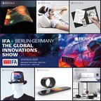Royole to Showcase Its Flexible Display and Flexible Sensor Technologies for B2B and B2C Uses at IFA 2018 Consumer Electronics Show