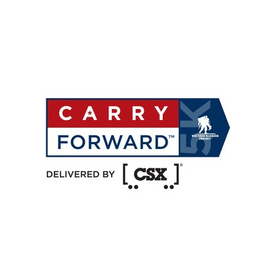 Wounded Warrior Project® (WWP) announces CSX® as presenting sponsor of its new Carry Forward™ 5K fitness challenge. Carry Forward, delivered by CSX, will help wounded warriors access free life-changing programs. (PRNewsfoto/Wounded Warrior Project)