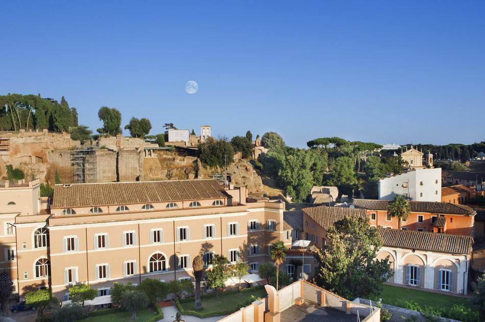 External view of Kolbe Hotel Rome, Image Source: Business Worldwide Magazine (PRNewsfoto/Business Worldwide Magazine)