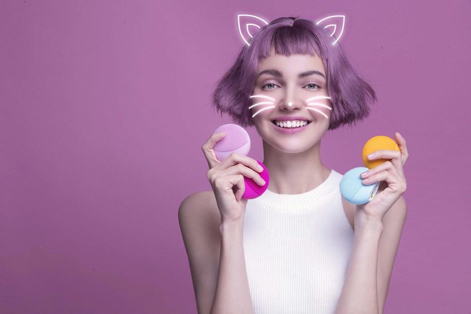LUNA fofo is everyone's favourite smart beauty coach (PRNewsfoto/FOREO)