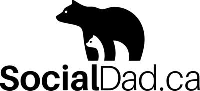 SocialDad.ca logo (CNW Group/Social Dad)