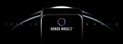 El dispositivo Honor Magic 2 (PRNewsfoto/Honor)