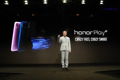 """Honor diz """"Game On"""" (Vamos jogar!) para a indústria de games com o lançamento do Honor Play por 329 euros (PRNewsfoto/Honor)"""