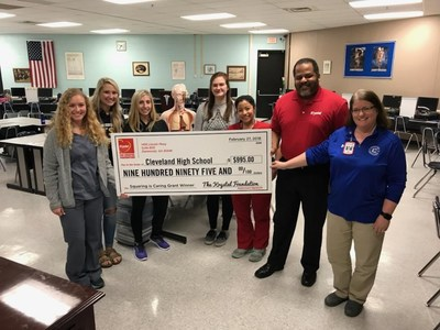 The Krystal Foundation awarded a grant to Chattanooga-based Cleveland High School to help students combine virtual reality (VR) and augmented reality (AR) for immersive, interactive learning experiences.