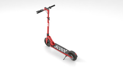 Scoot's kick scooter is designed to tackle the unique challenges posed by San Francisco's terrain with a powerful 350 watt motor as well as triple redundancy in the braking systems.
