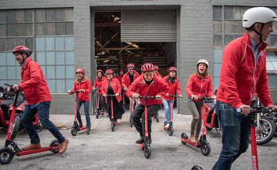 """We are happy to offer San Franciscans another fast, fun, affordable way to get around and we are honored by the City's trust in us to manage this new mode of transportation,"" said Scoot CEO, Michael Keating."